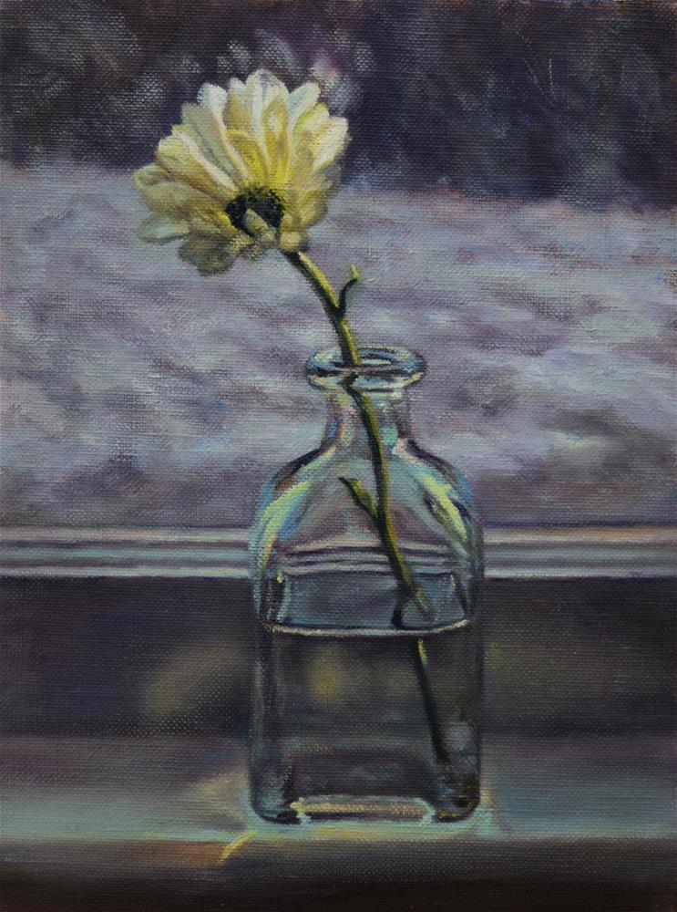 """Winter Blues"" original fine art by Melissa  Imossi"