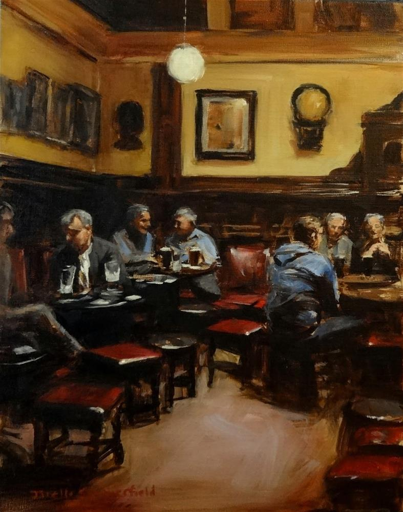 """The Palace Bar"" original fine art by Jonelle Summerfield"