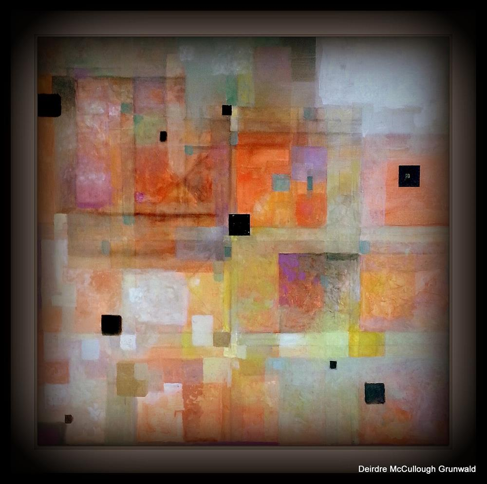 """Gridspace"" original fine art by Deirdre McCullough Grunwald"