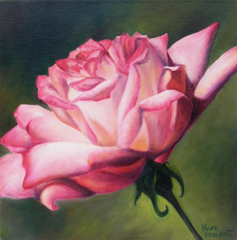 """The Rose"" original fine art by Lori Brackett"