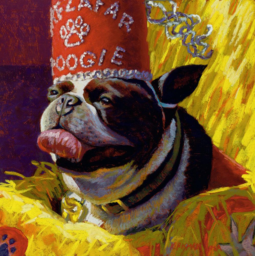 """The Grand Poogie"" original fine art by Rita Kirkman"