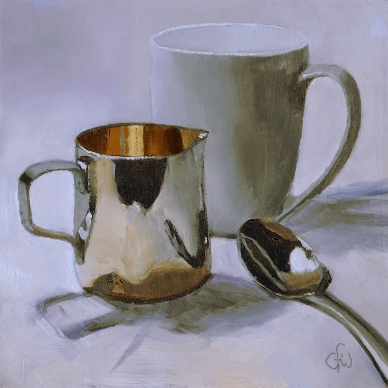 """Ready for Coffee"" original fine art by Gary Westlake"