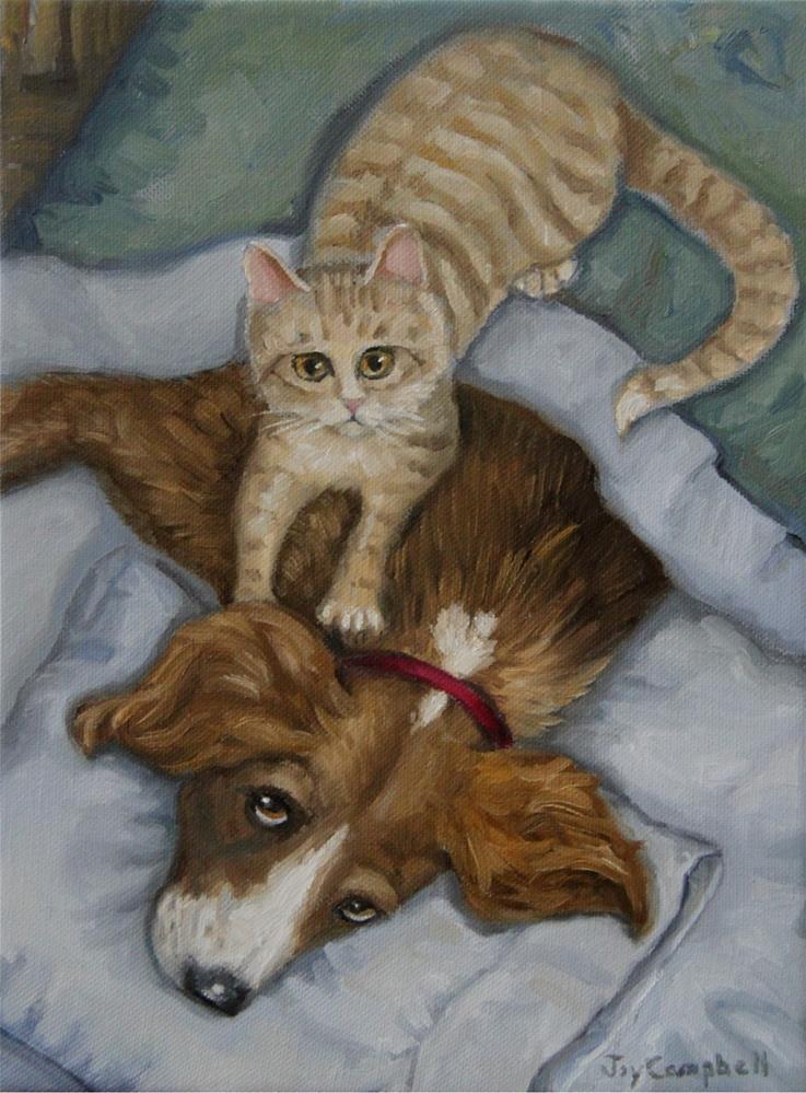 """The Masseuse"" original fine art by Joy Campbell"