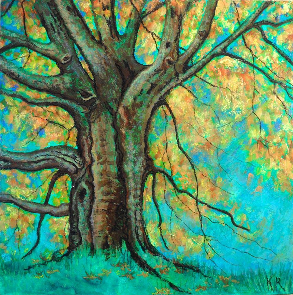 """""""Michigan Fall"""" original fine art by Karen Roncari"""