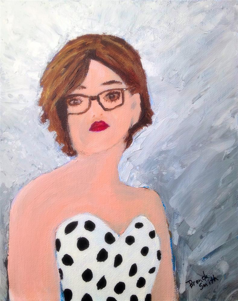 """Prom"" original fine art by Brenda Smith"