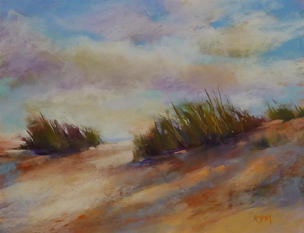 """My Favorite Tip to Prevent Overworking a Pastel Painting"" original fine art by Karen Margulis"