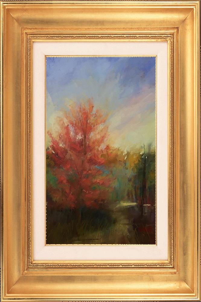 """Virginia October"" original fine art by Leora LaGraffe"