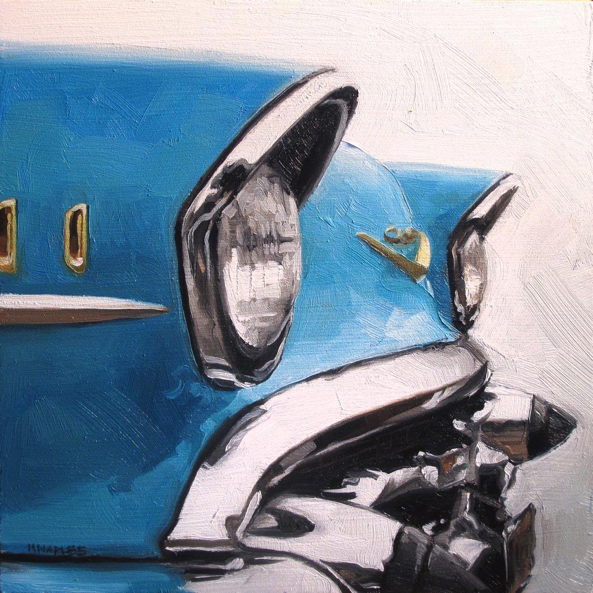 """57 Bel Air"" original fine art by Michael Naples"