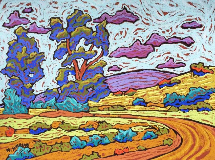 """California Color"" original fine art by Monique Straub"