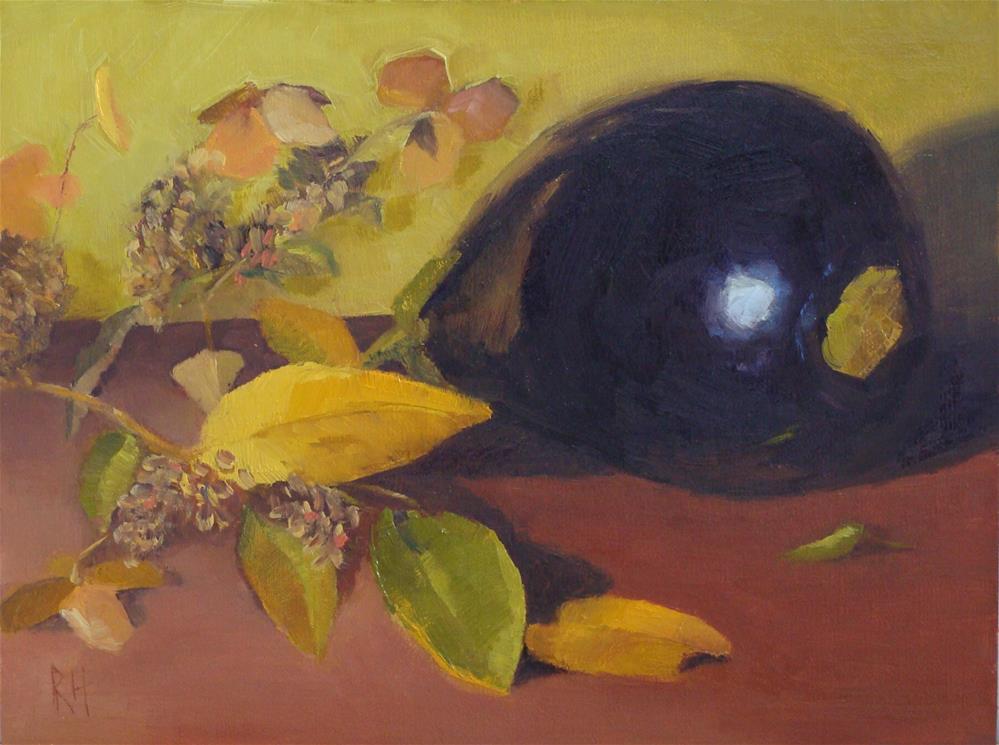 """Fall Fruit"" original fine art by Rebecca Helton"