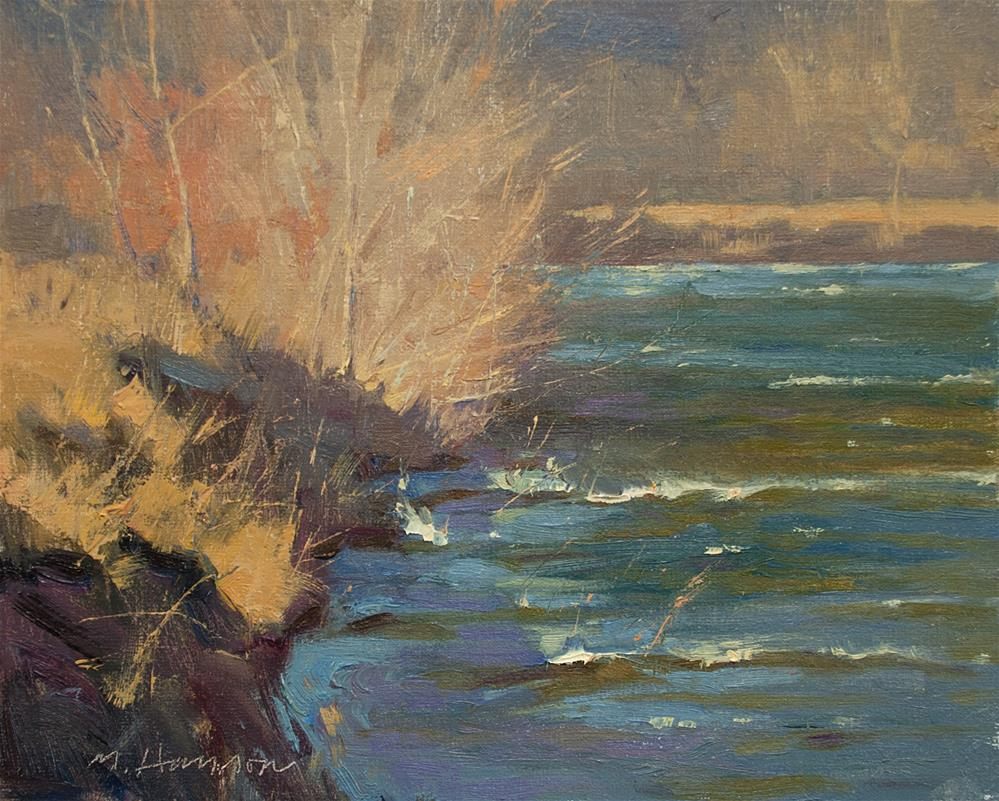 """2-21-1 Windy Shore"" original fine art by Marc Hanson"