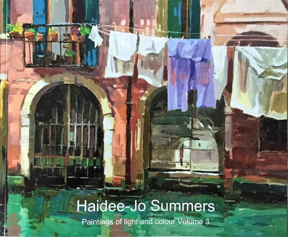 """Painting collection books and calendars"" original fine art by Haidee-Jo Summers ROI"