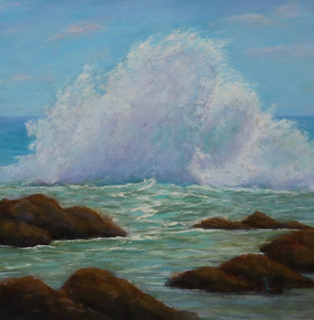 """""""After the Hurricane"""" original fine art by Sharon Lewis"""