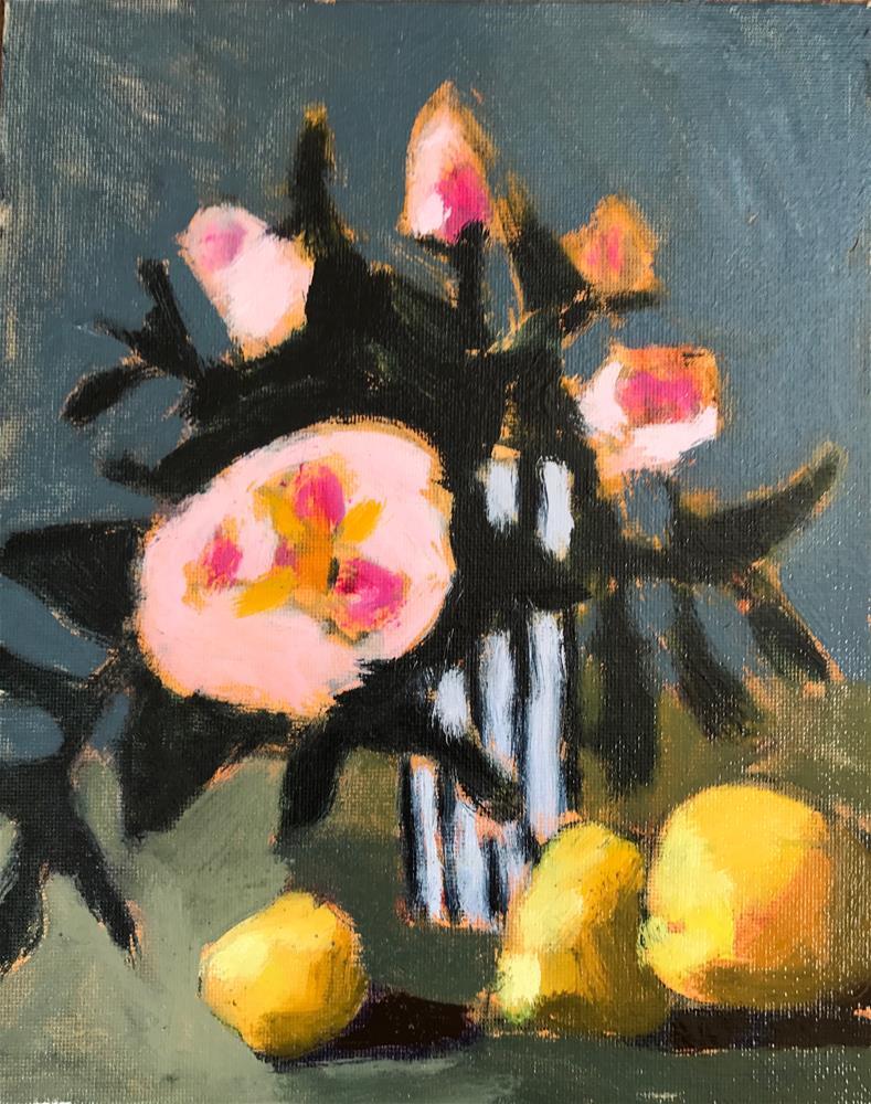 """Rose Elliot"" original fine art by Pamela Hoffmeister"
