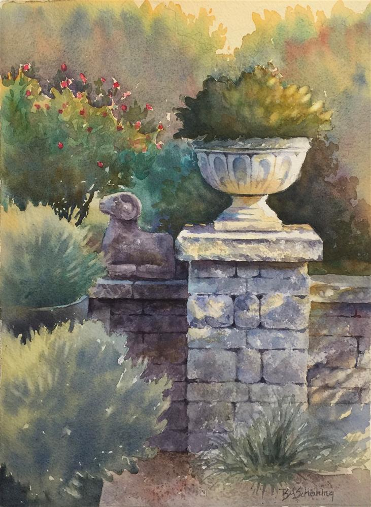 """Urning A Spotlight"" original fine art by Barbara Scheihing"