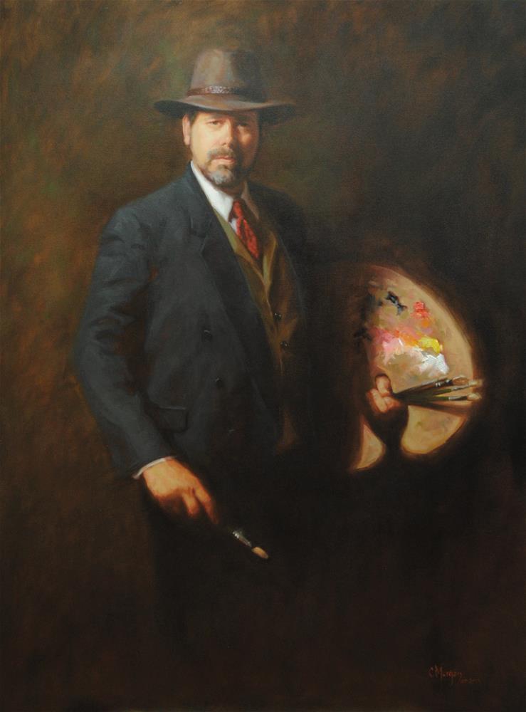 """""""The Master"""" original fine art by Cecile W. Morgan"""