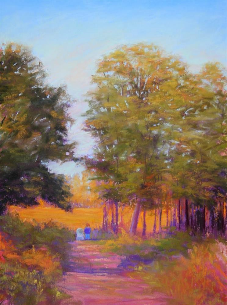 """Reverie: Crow Creek Farm"" original fine art by Sharon Lewis"