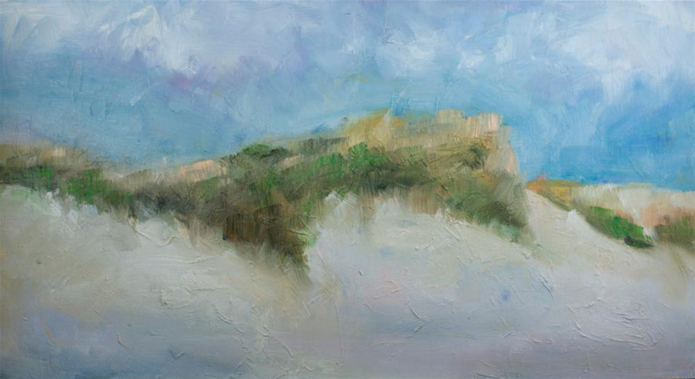 """Beach Dunes"" original fine art by Sue Churchgrant"