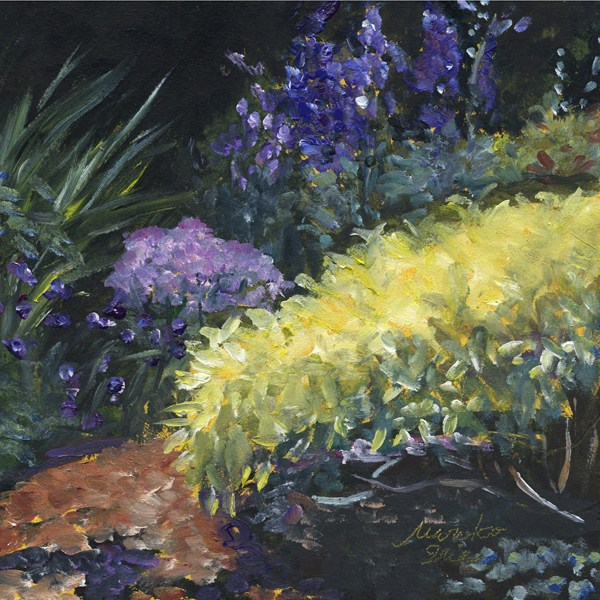 """Harmony Garden"" original fine art by Mariko Irie"