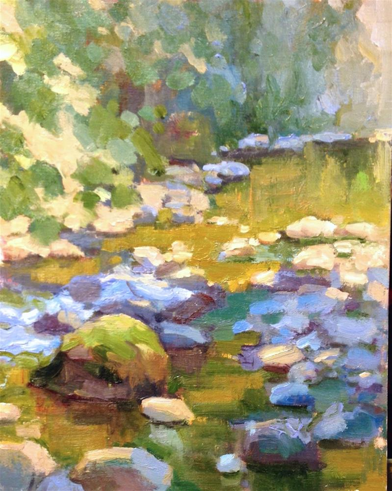 """Cascades"" original fine art by Emiliya Lane"