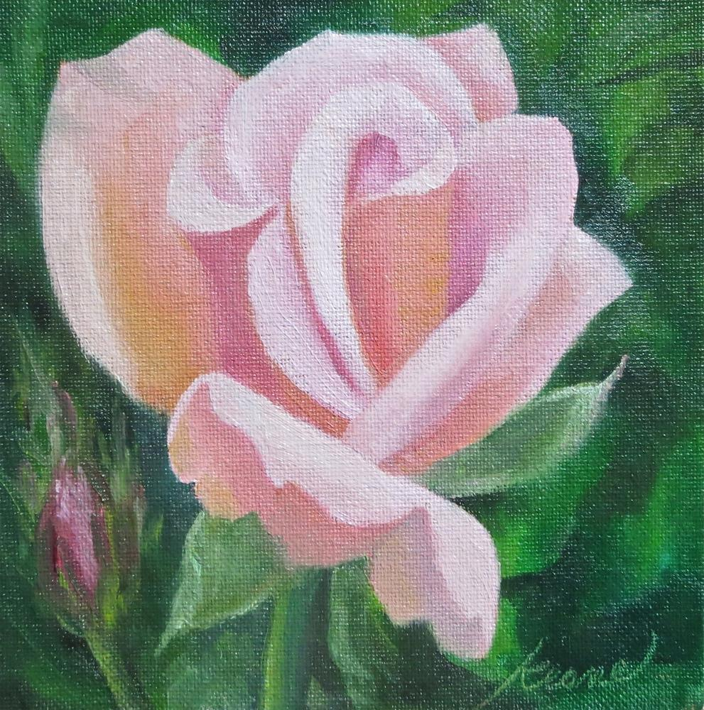 """Nipped in the Bud"" original fine art by Carol Keene"