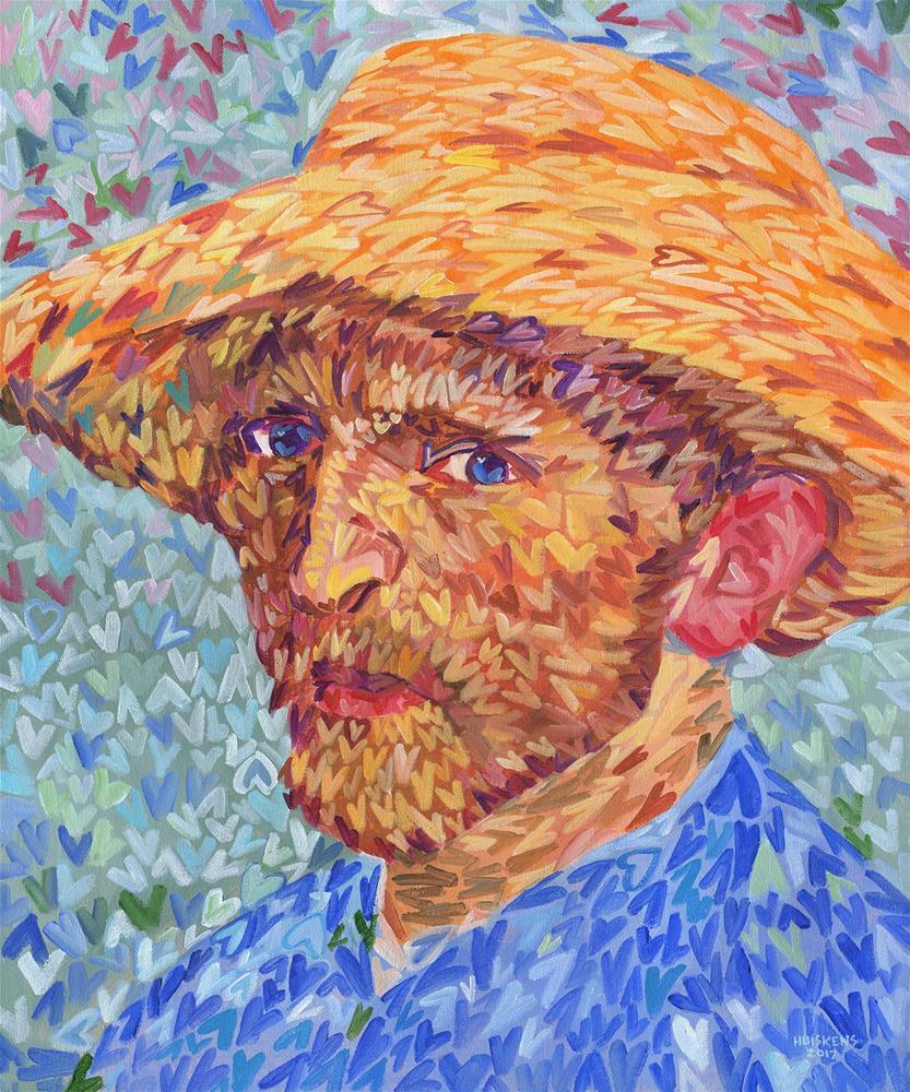"""I ♥ Van Gogh"" original fine art by Randal Huiskens"