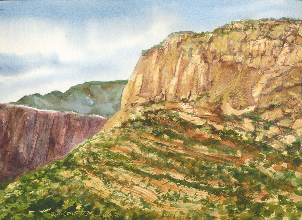 """Canyon Country, Southern Utah"" original fine art by Rafael DeSoto Jr."