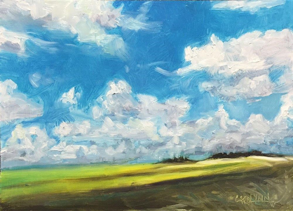 """Somewhere on the Prairies"" original fine art by Carolynn Doan"
