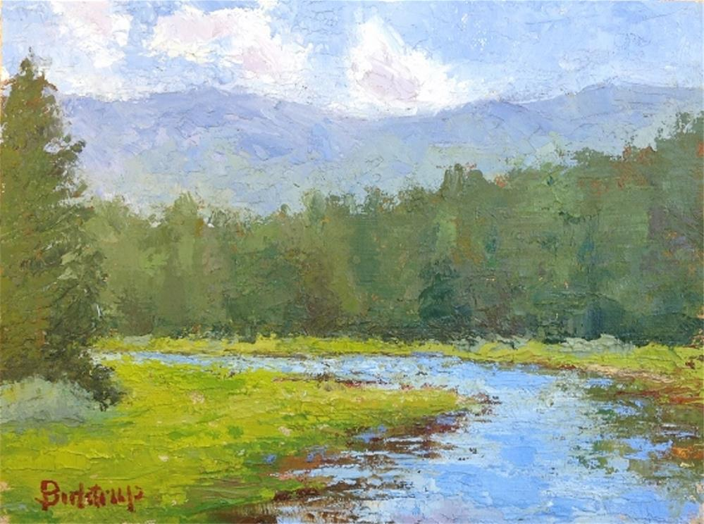 """Truckee River"" original fine art by Mark Bidstrup"
