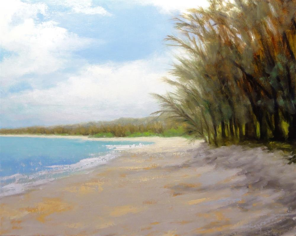 """Lifes A Beach"" original fine art by Dalan Wells"