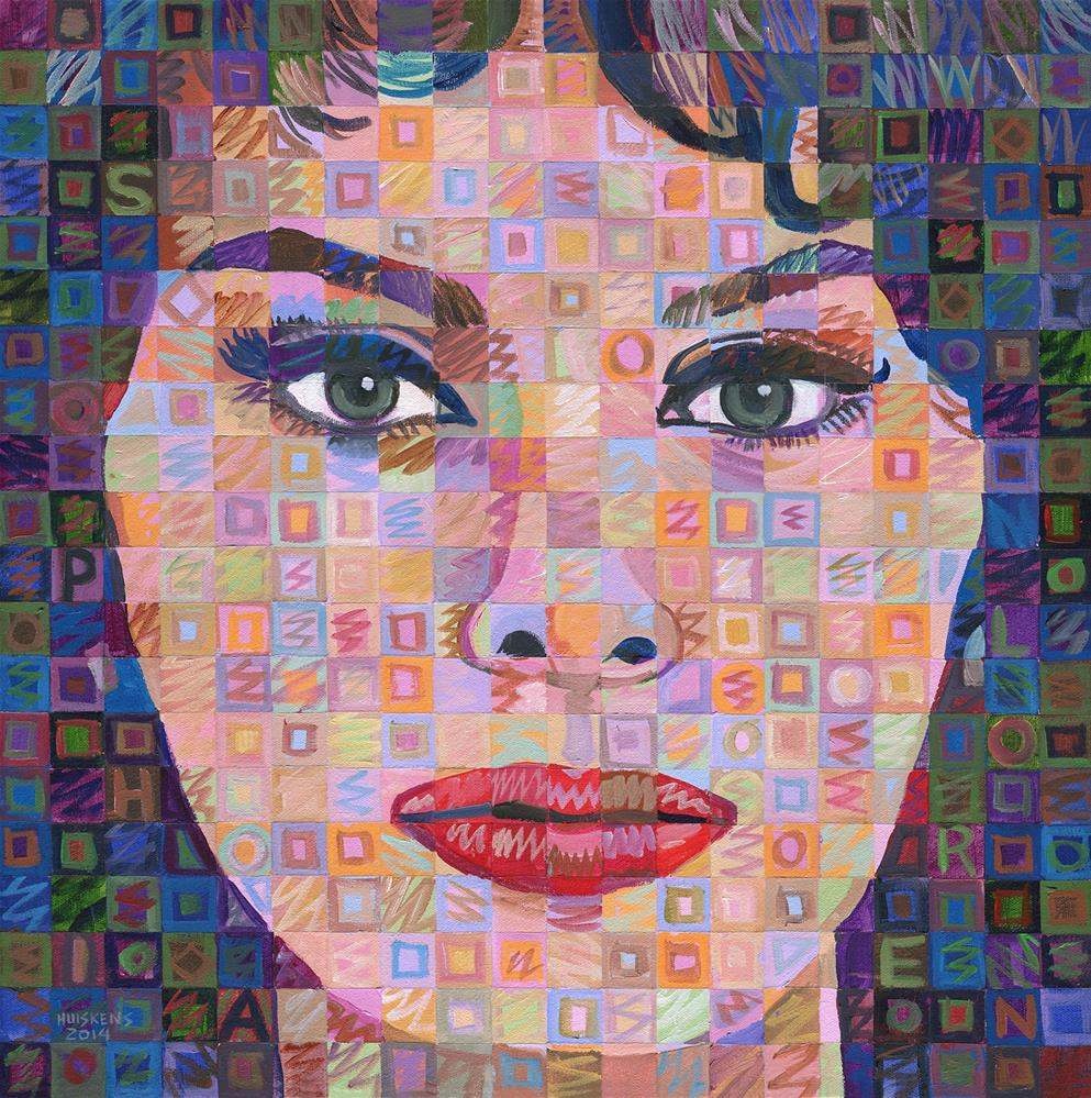 """""""Sophia Loren #2"""" original fine art by Randal Huiskens"""