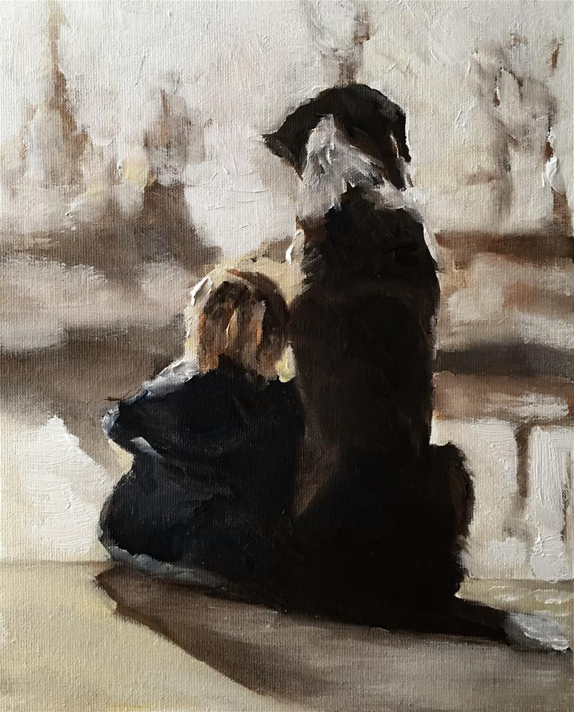 """Good Pals"" original fine art by James Coates"