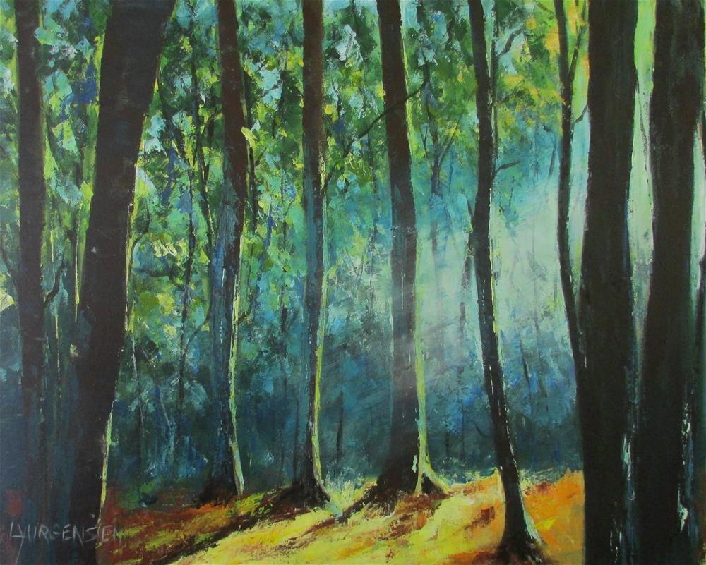 """24 x 30 inch acrylic"" original fine art by Linda Yurgensen"