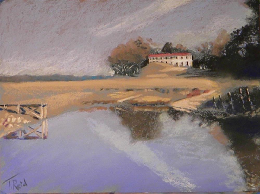 """""""Ann's heritage"""" original fine art by Toby Reid"""