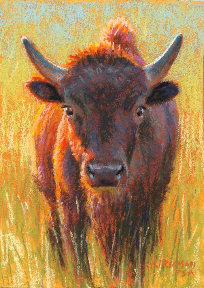 """Hank"" original fine art by Rita Kirkman"