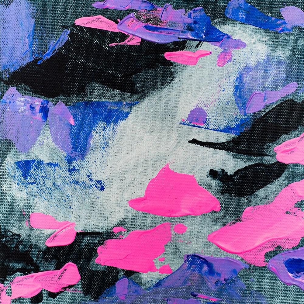 """""""Cotton Candy Storm"""" original fine art by Franziska Schwade"""