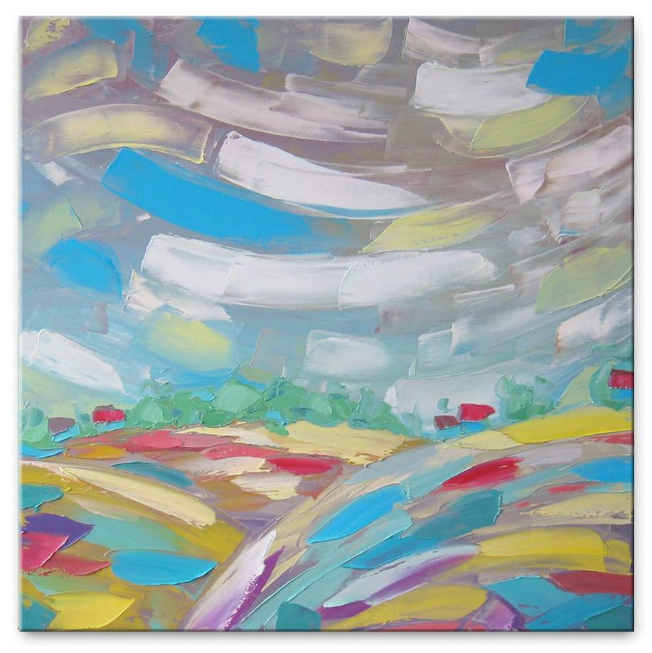 """Morning Rainbow"" original fine art by Elena Lunetskaya"