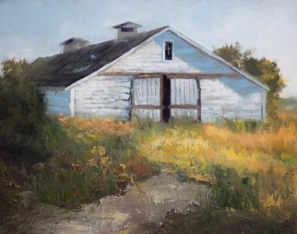 """Skagit Barn"" original fine art by Sandy Byers"