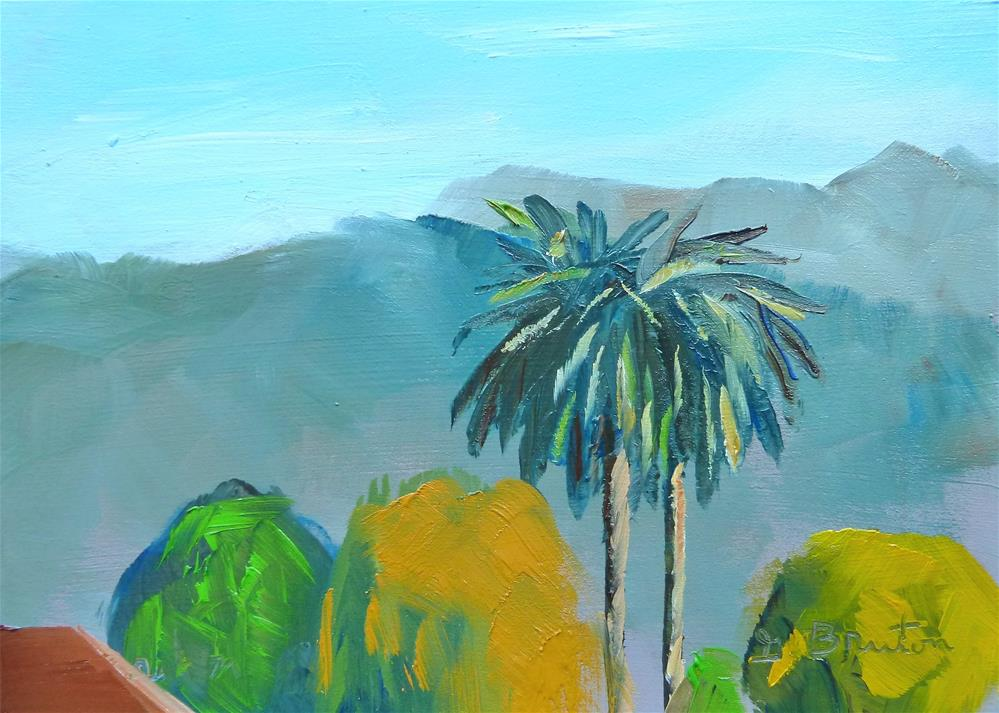 """""""Rooftop Looking North"""" original fine art by Gary Bruton"""
