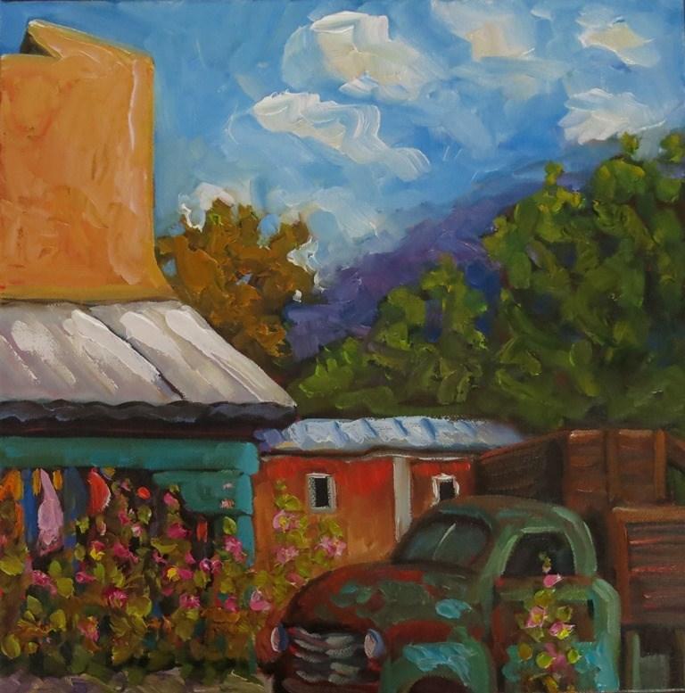 """""""#42 SECO"""" original fine art by Dee Sanchez"""