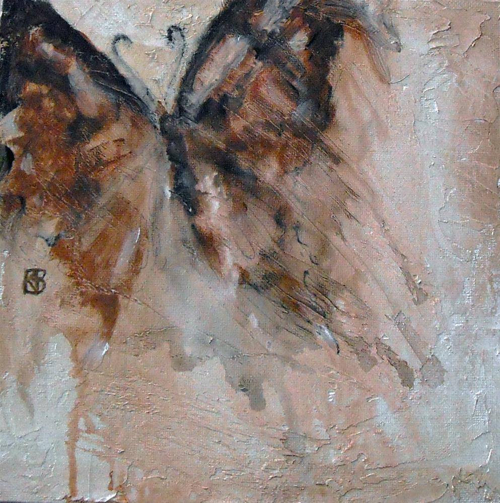 """Wing Shadows"" original fine art by Kathleen Barnes"