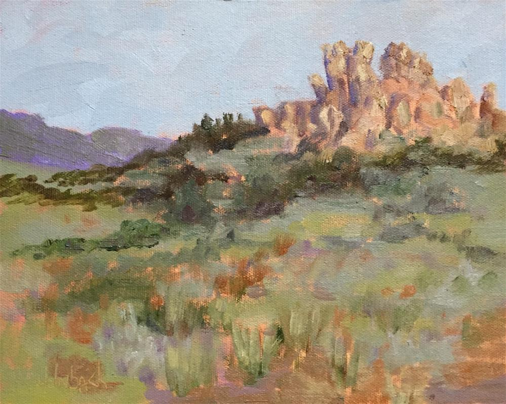 """Eagle Rock"" original fine art by Pam Holnback"