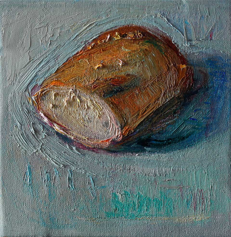 """Bread"" original fine art by Anna  Fine Art"