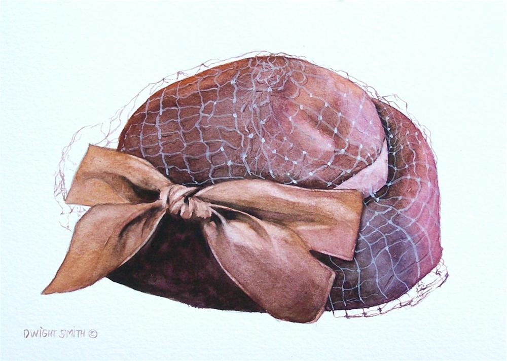 """ A LADIES CHAPEAUX "" original fine art by Dwight Smith"