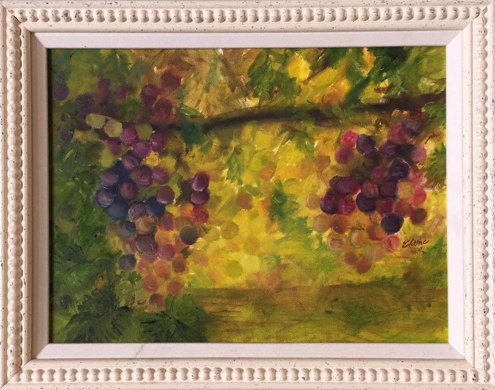 """Fruits of Our Labor"" original fine art by Elaine Ford"