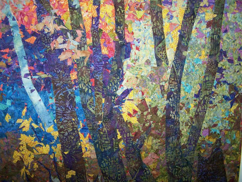 """""""Morrison's Woods #2"""" original fine art by Joan Reive"""