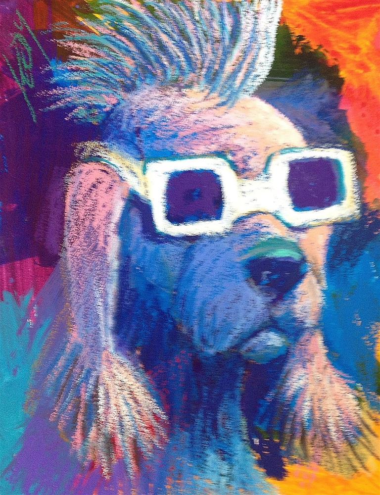 """""""I Go My Own Way."""" original fine art by Jeff Leedy"""