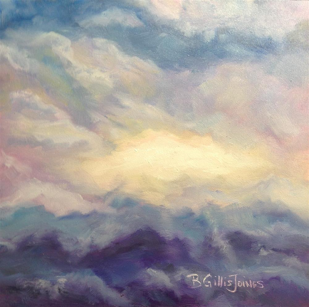 """Looking Up"" original fine art by Barbara Gillis Joines"