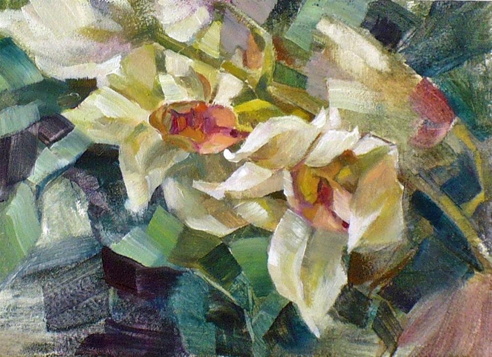 """""""Orchids"""" original fine art by Nicoletta Baumeister"""