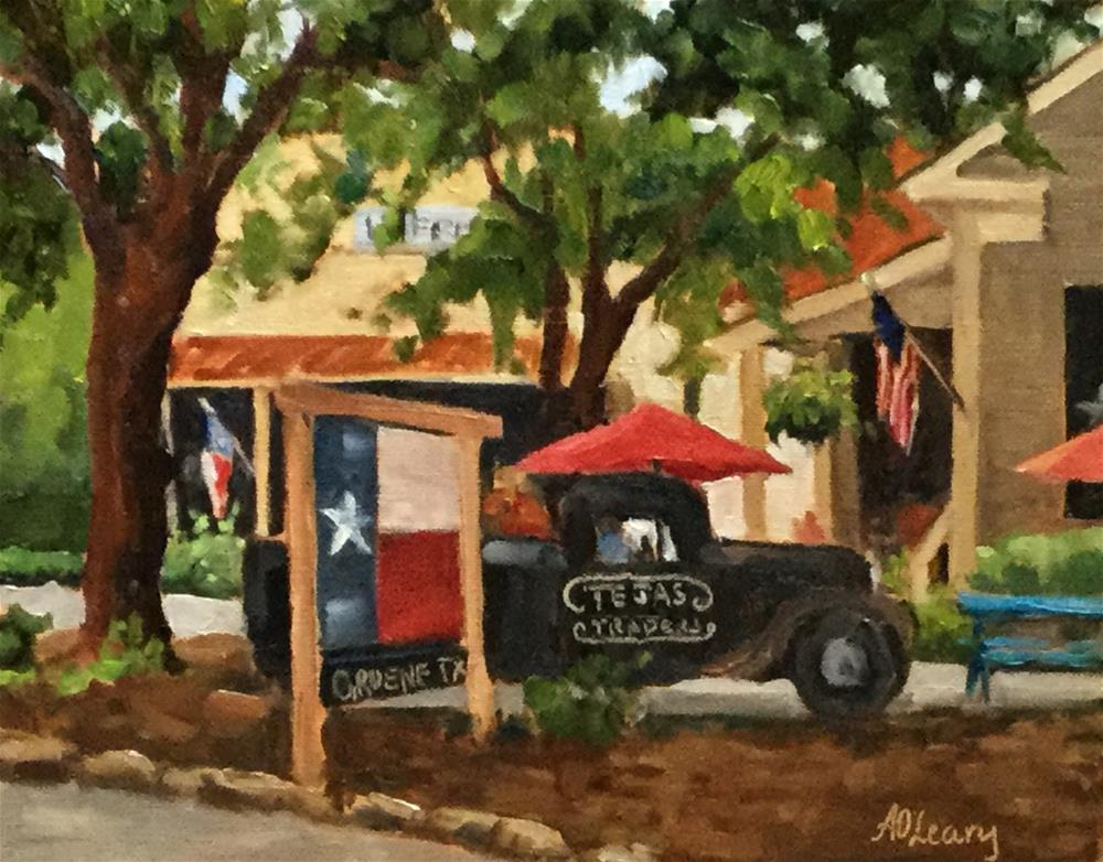 """Tejas Delivery"" original fine art by Alice O'Leary"